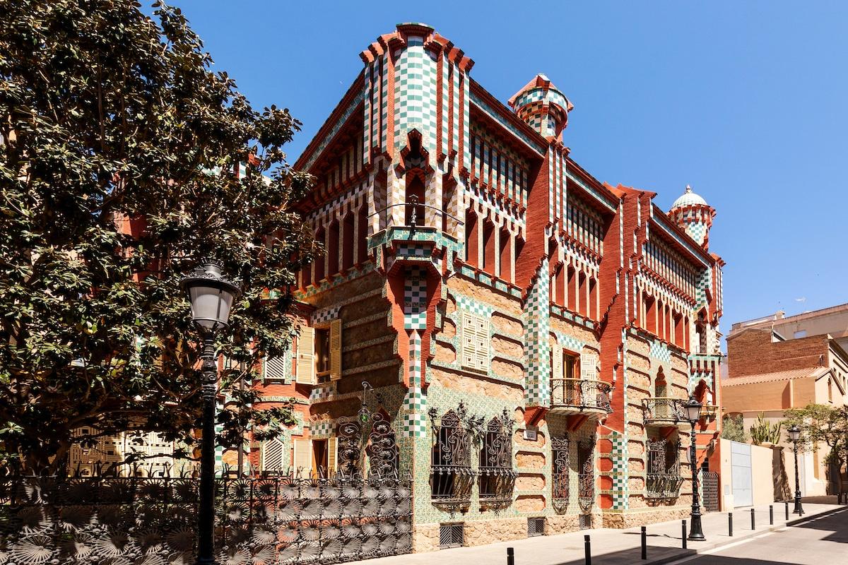 La Casa Vicens de Antoni Gaudí en Airbnb