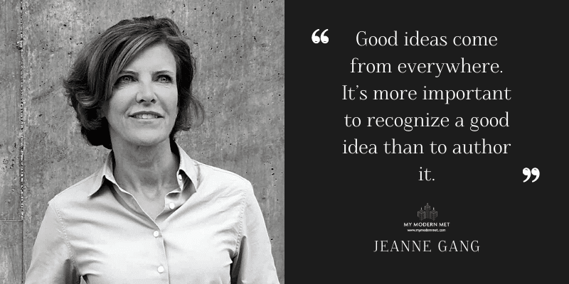 Jeanne Gang Architecture Quote