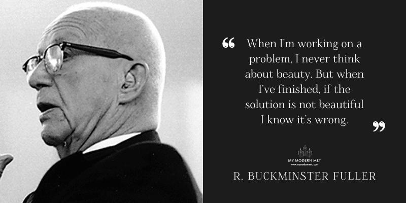 R. Buckminster Fuller Architecture Quote