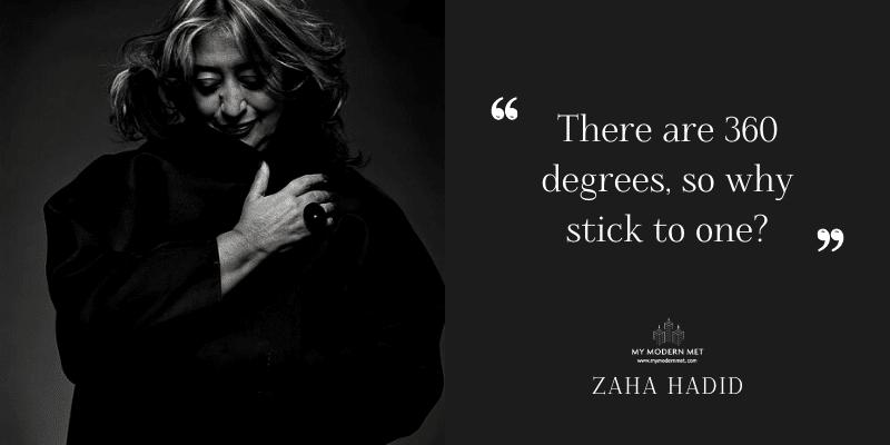 Zaha Hadid Architecture Quote