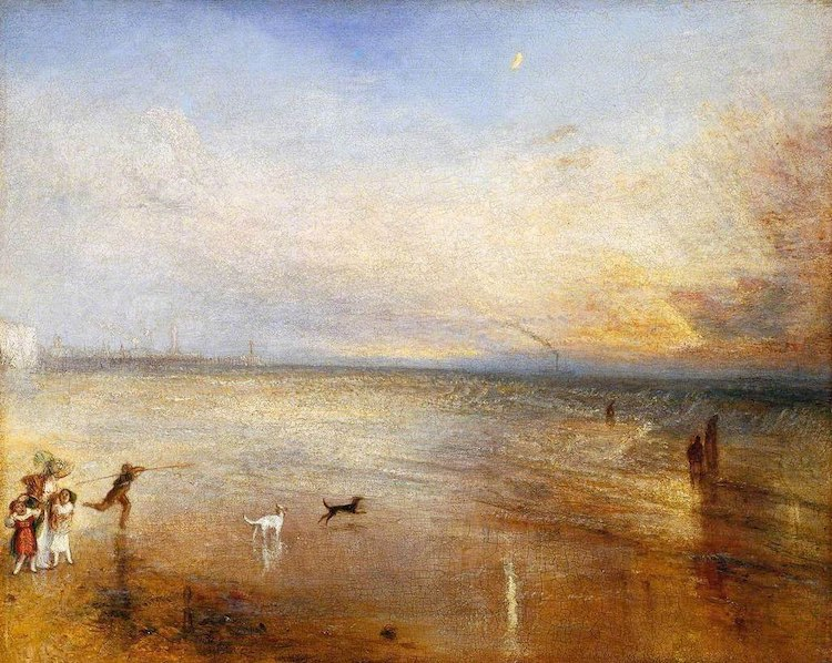 The New Moon by William Turner