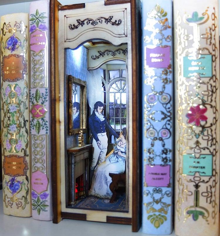 Bookshelf Diorama