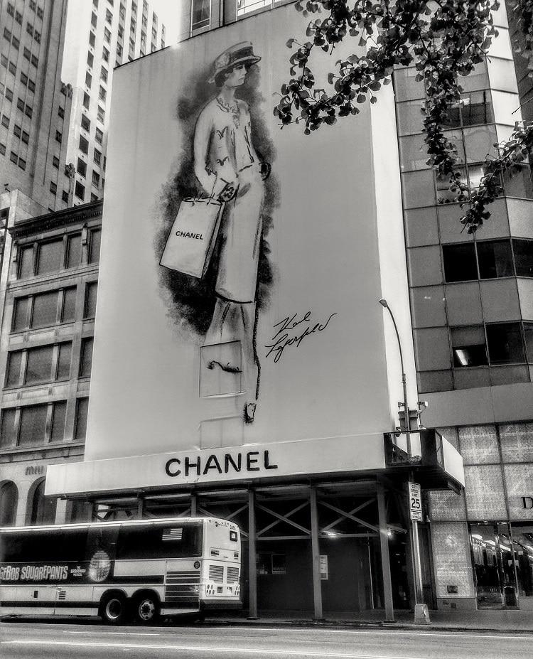 Ouverture d'une boutique Chanel à New-York