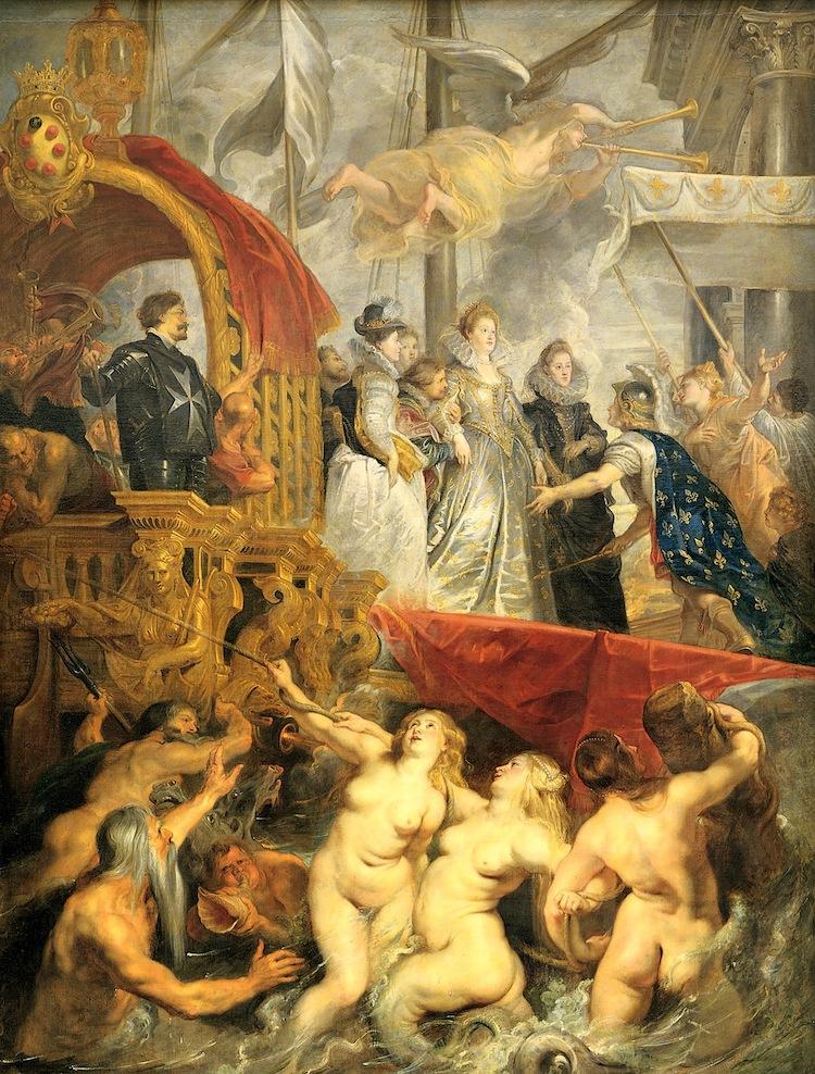 Disembarkation at Marseilles Painting