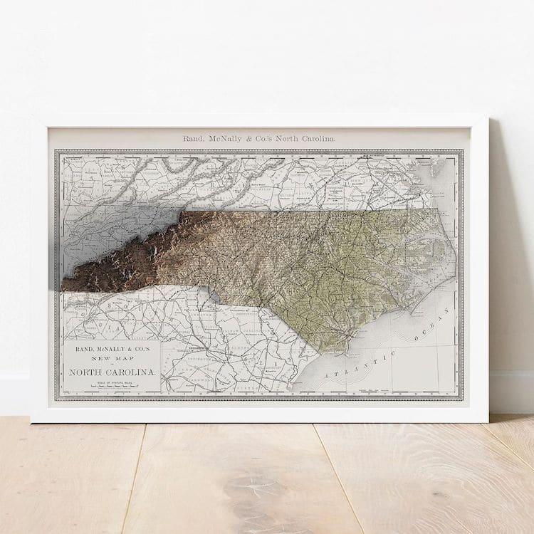 Custom Topographical Maps