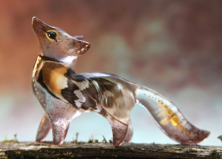 Resin Animal Sculptures by Evgeny Hontor