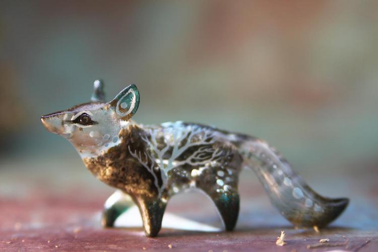 Fantasy Animal Sculptures by Evgeny Hontor