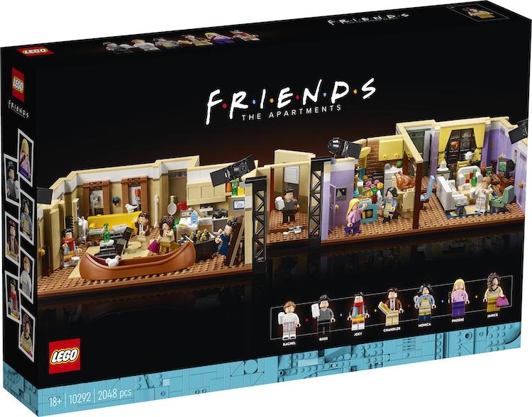 The Friends Apartments Lego Set