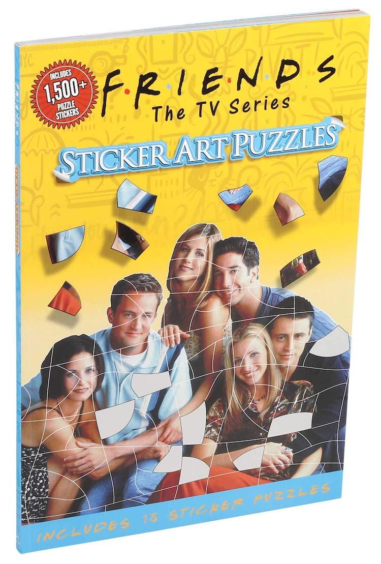 Friends Puzzle Sticker Art