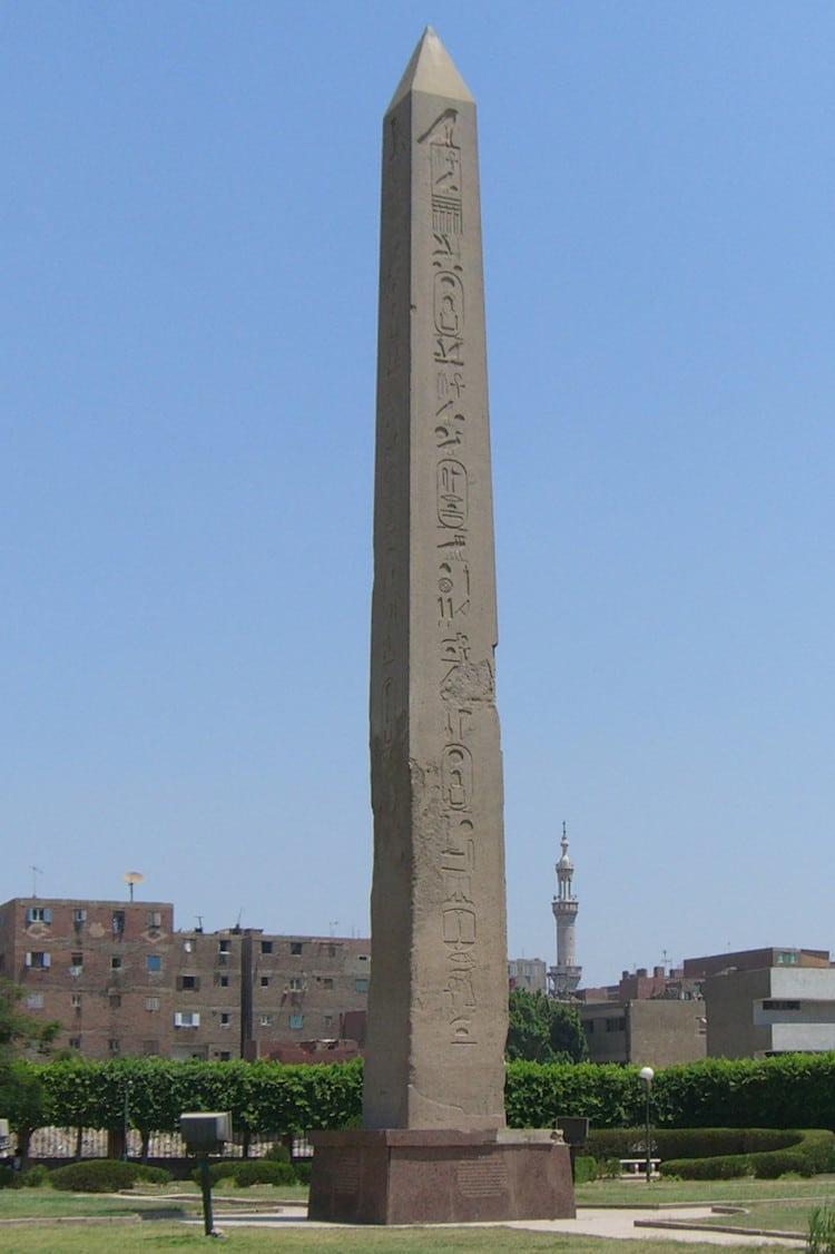 Heliopolis Obelisk in Egypt