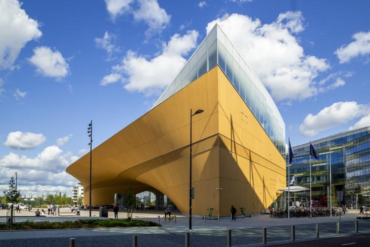 Oodi Library in Helsinki Finland