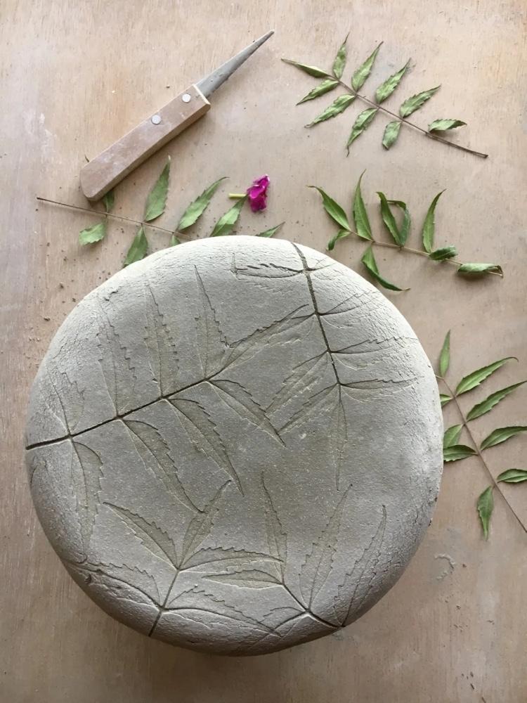 Botanical Ceramic Dinnerware by Hessa Al Ajmani