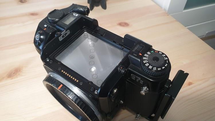 Using Analog Camera to Photograph a Lunar Eclipse