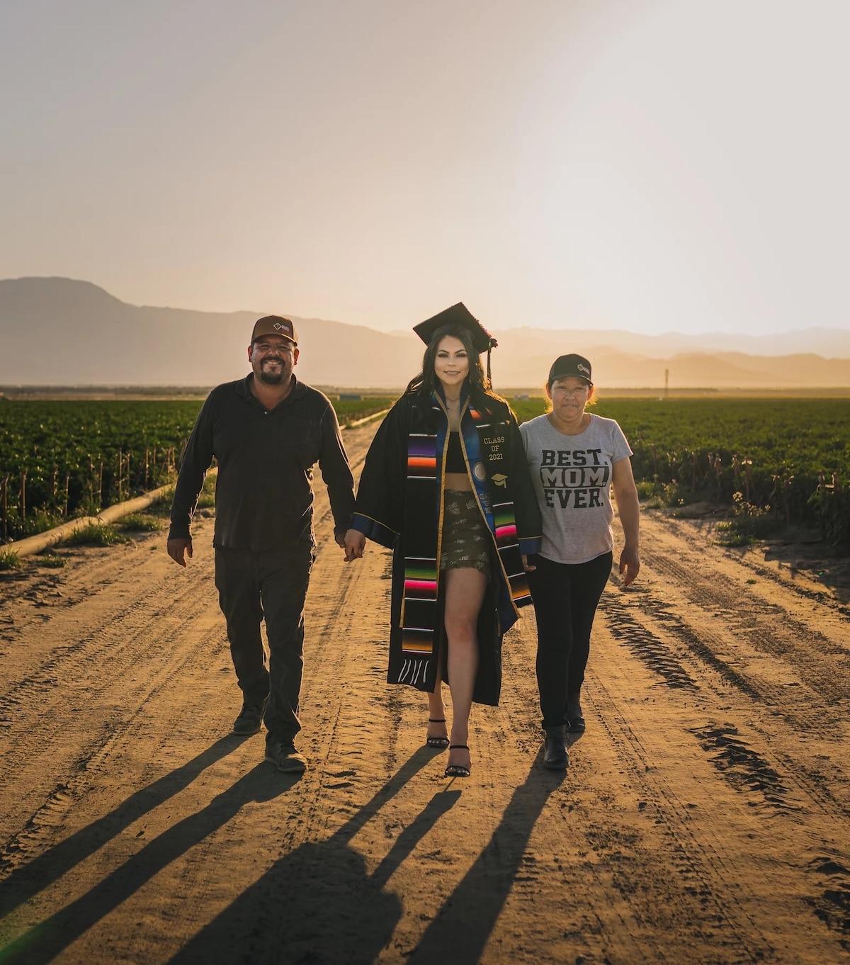 Photo de remise de diplômes