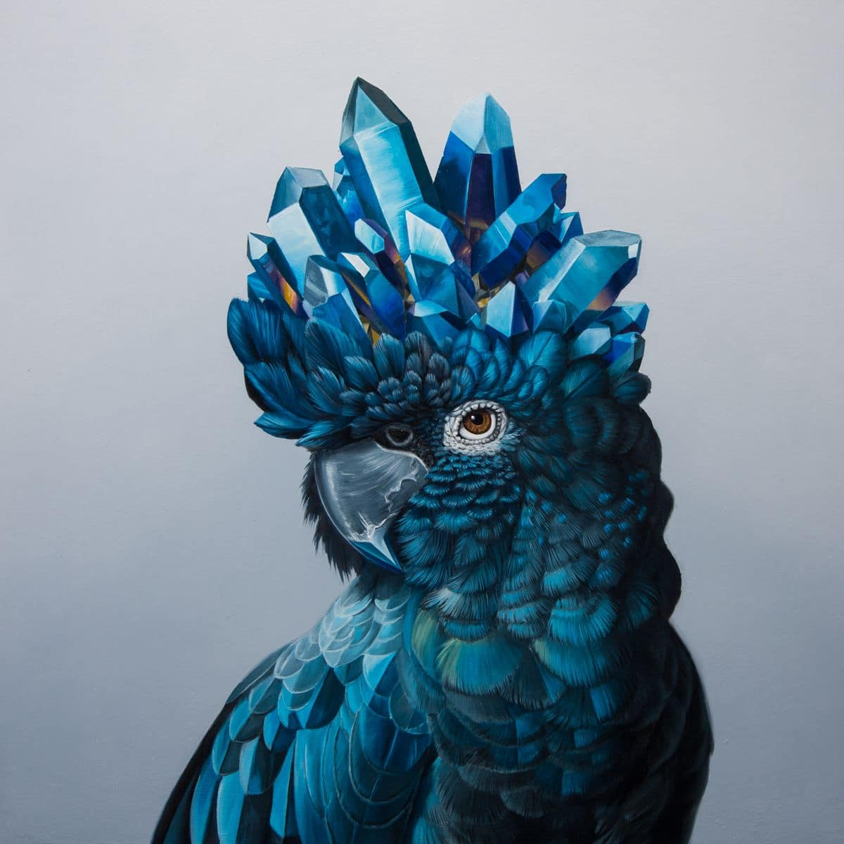 Oil Paintings of Animals by Jon Ching