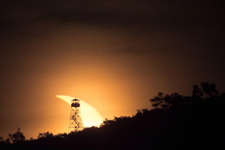 Photo de l'éclipse solaire par Julian Diamond