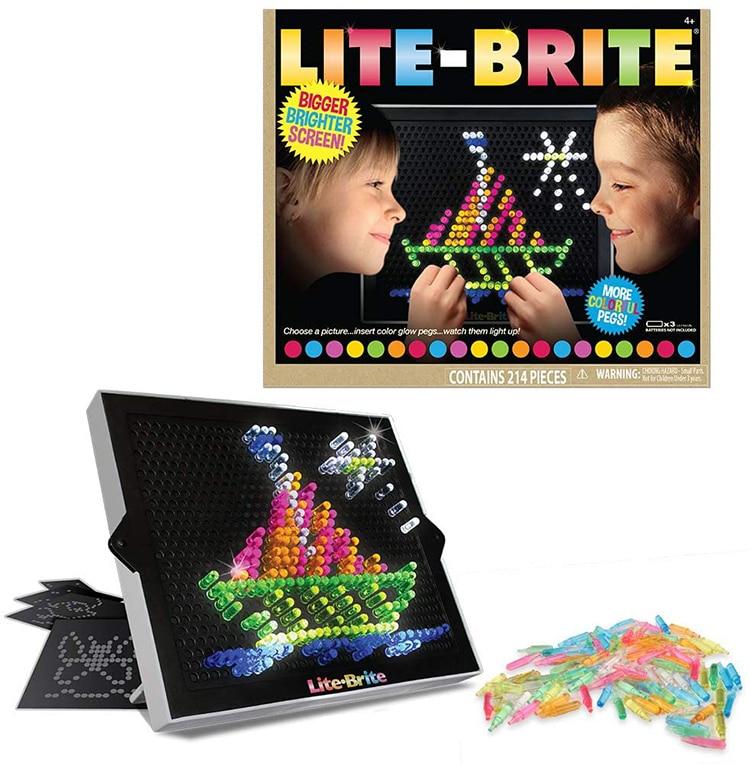 Lite Brite Toy 1980s