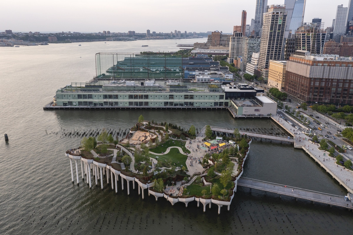 Photographer Timothy Schenck captures NYC's Little Island by Heatherwick Studio and MNLA