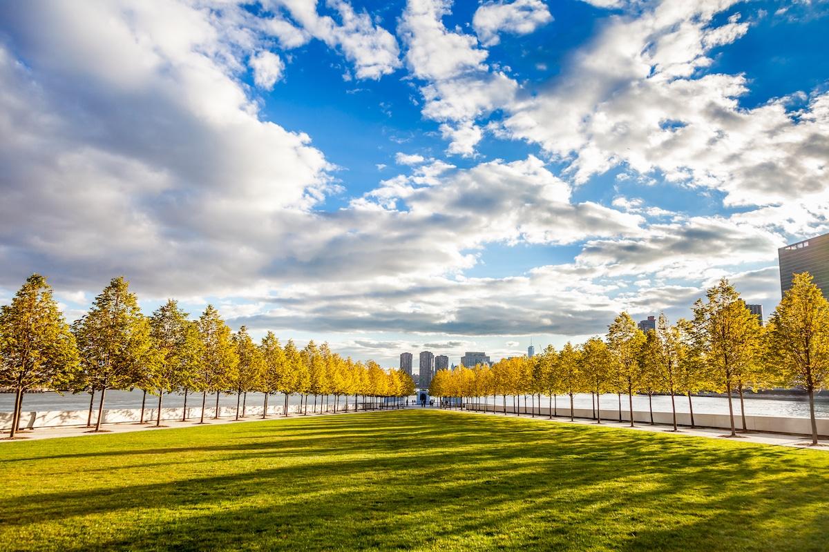 Four Freedoms Park by Louis Kahn
