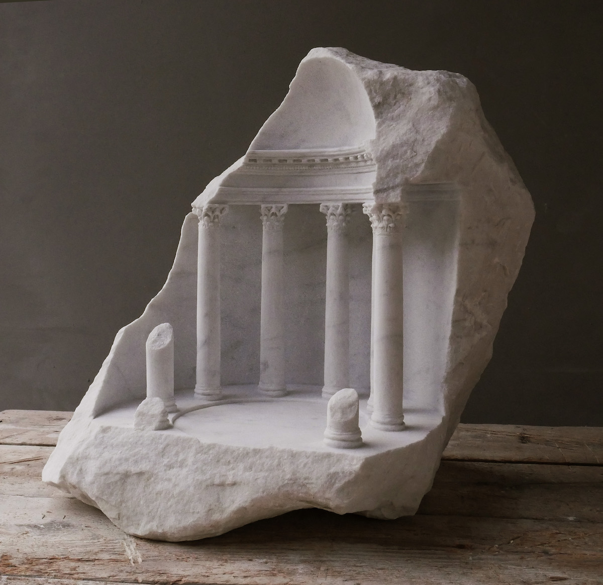 Carved Stone Art