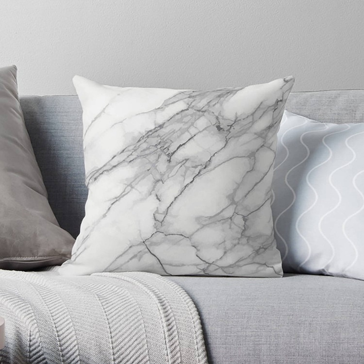 Modern Marble Pillow Cover