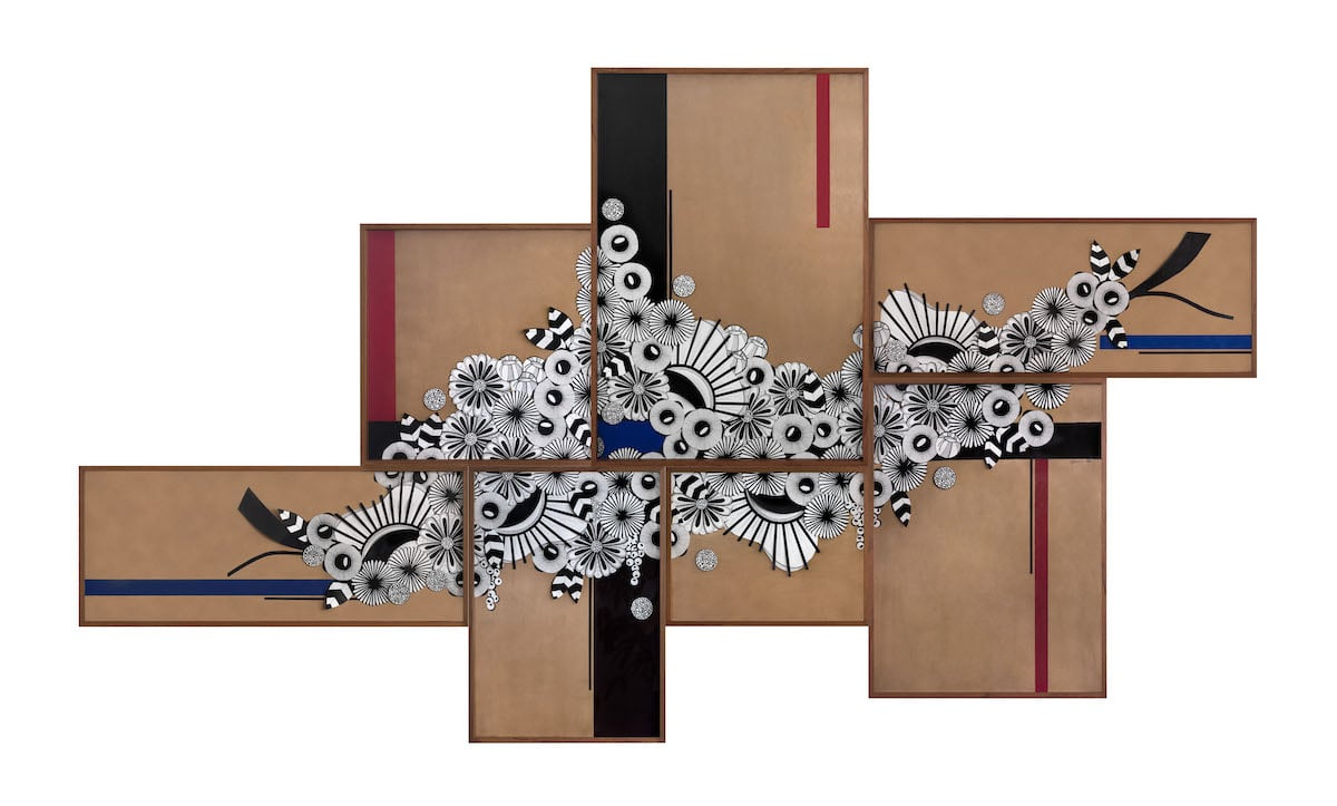Multi Panel Wall Art by Ani Cuenca
