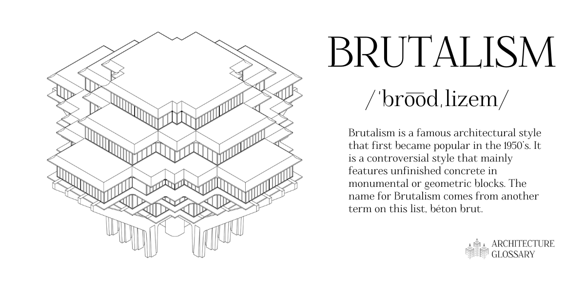 Brutalism Definition - 100 Architecture Terms to Help You Describe Buildings Better