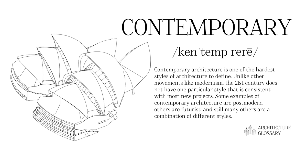 Contemporary Architecture Definition - 100 Architecture Terms to Help You Describe Buildings Better