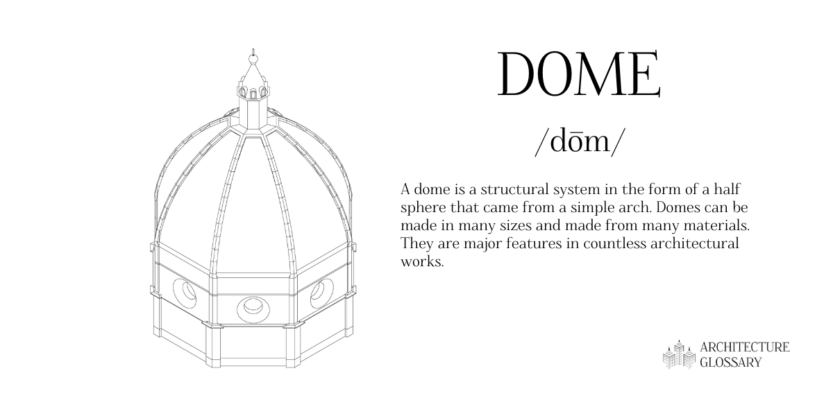 Dome Definition - 100 Architecture Terms to Help You Describe Buildings Better