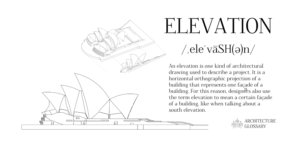 Elevation Definition - 100 Architecture Terms to Help You Describe Buildings Better