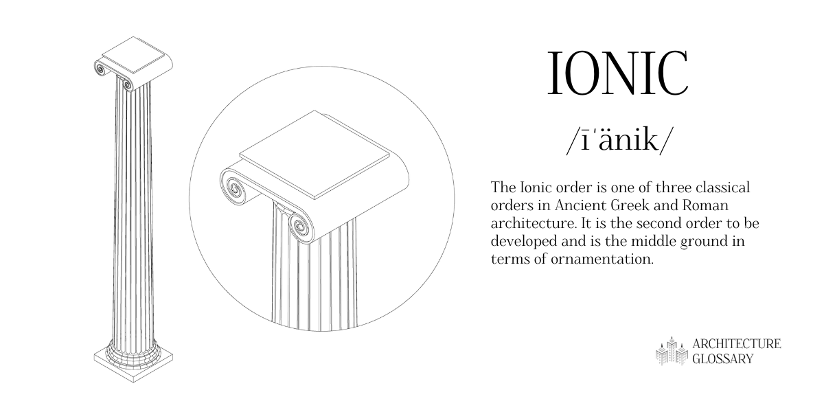 Ionic Definition - 100 Architecture Terms to Help You Describe Buildings Better