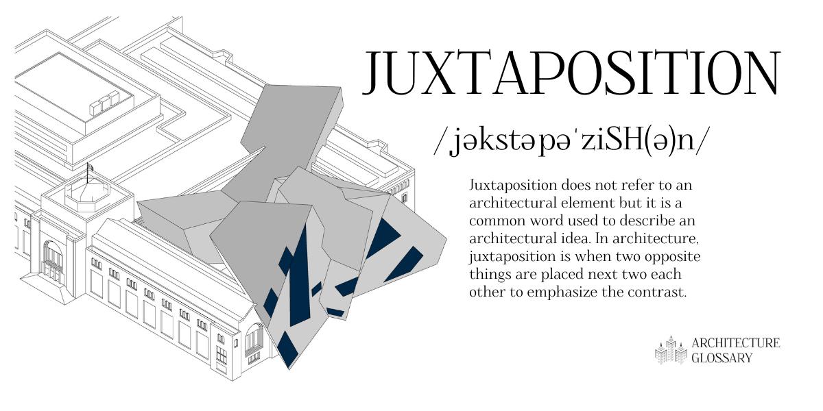 Juxtaposition Definition - 100 Architecture Terms to Help You Describe Buildings Better