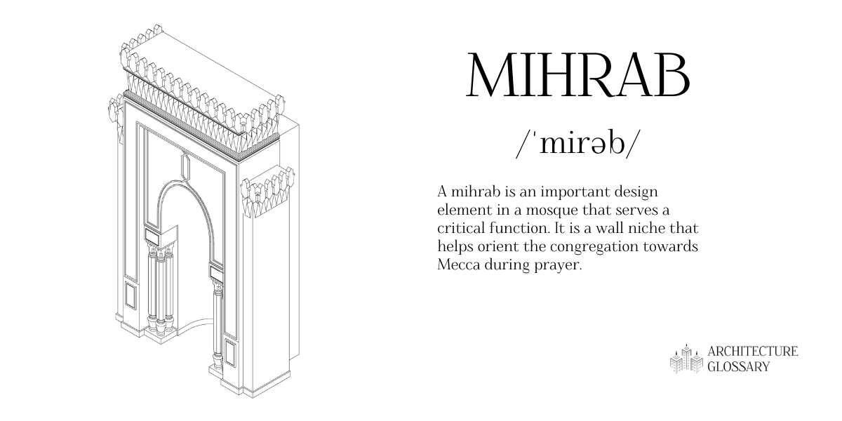 Mihrab Definition - 100 Architecture Terms to Help You Describe Buildings Better