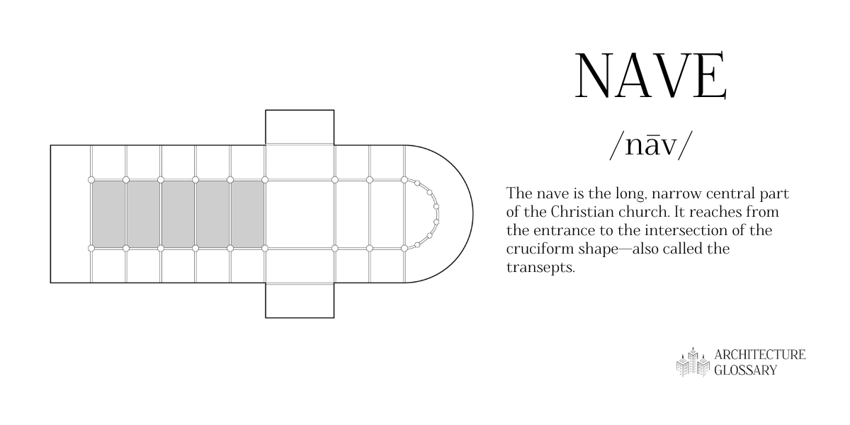Nave Definition - 100 Architecture Terms to Help You Describe Buildings Better