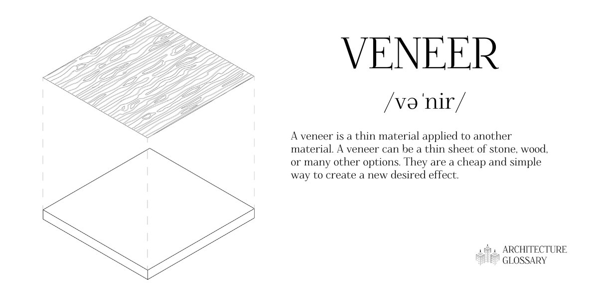 Veneer Definition - 100 Architecture Terms to Help You Describe Buildings Better