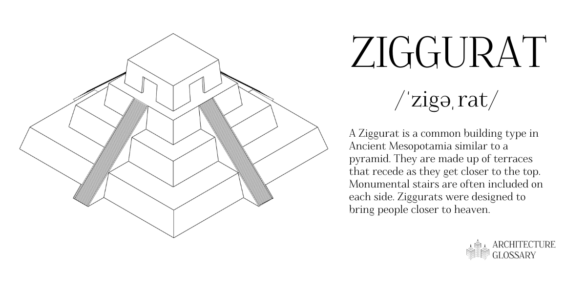 Ziggurat Definition - 100 Architecture Terms to Help You Describe Buildings Better
