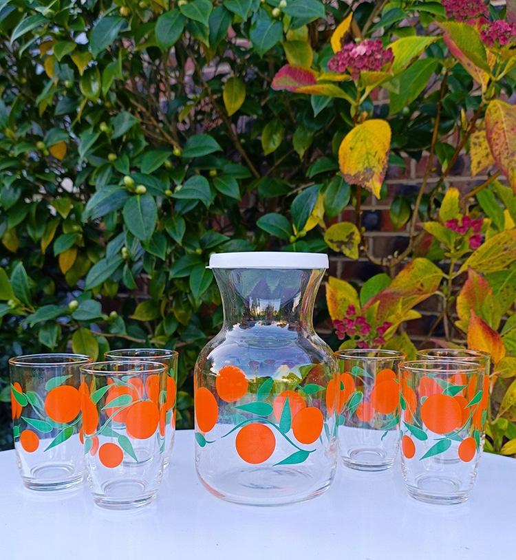 Fruity Vintage Drinkware