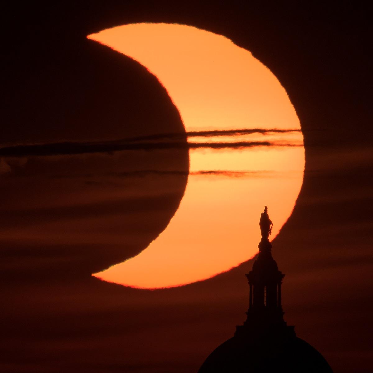 2021 Partial Solar Eclipse