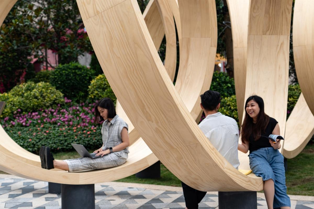 Infinite Loop Hong Kong Art Installation