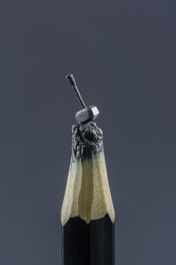 Pencil Lead Sculptures