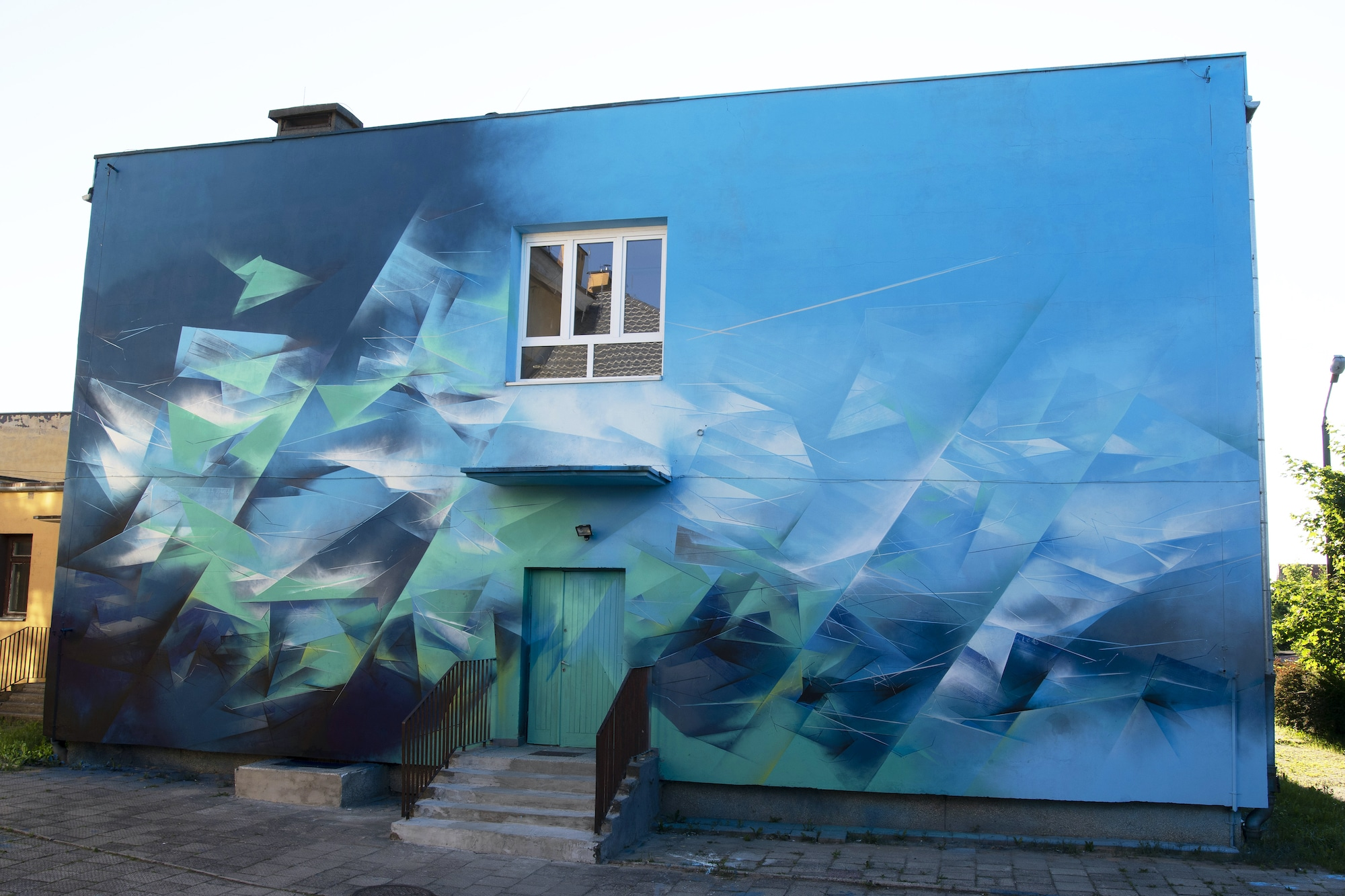 Lustro Land Street Art autorstwa Pener