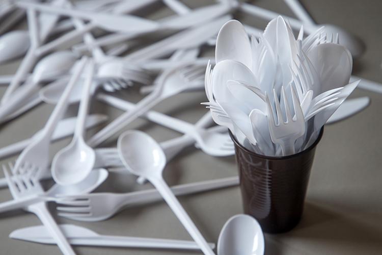 European Union Bans Single-Use Plastics Such as Silverware On July 3, 2021