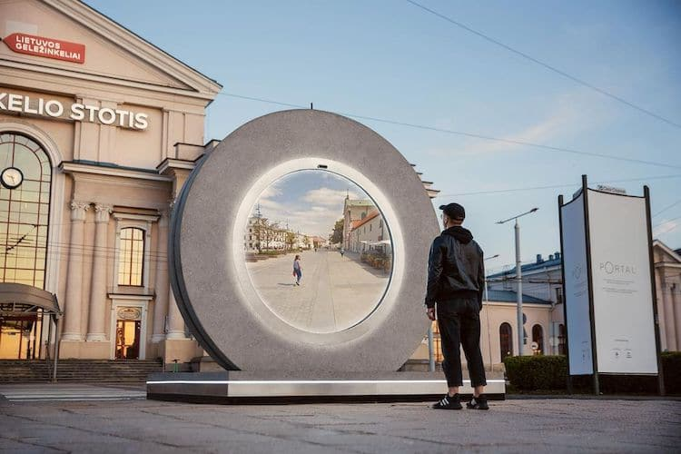 Portal in Vilnius