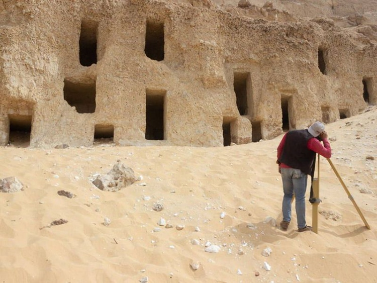 Egyptian Rock-Cut Tombs Discovered By Archeologists
