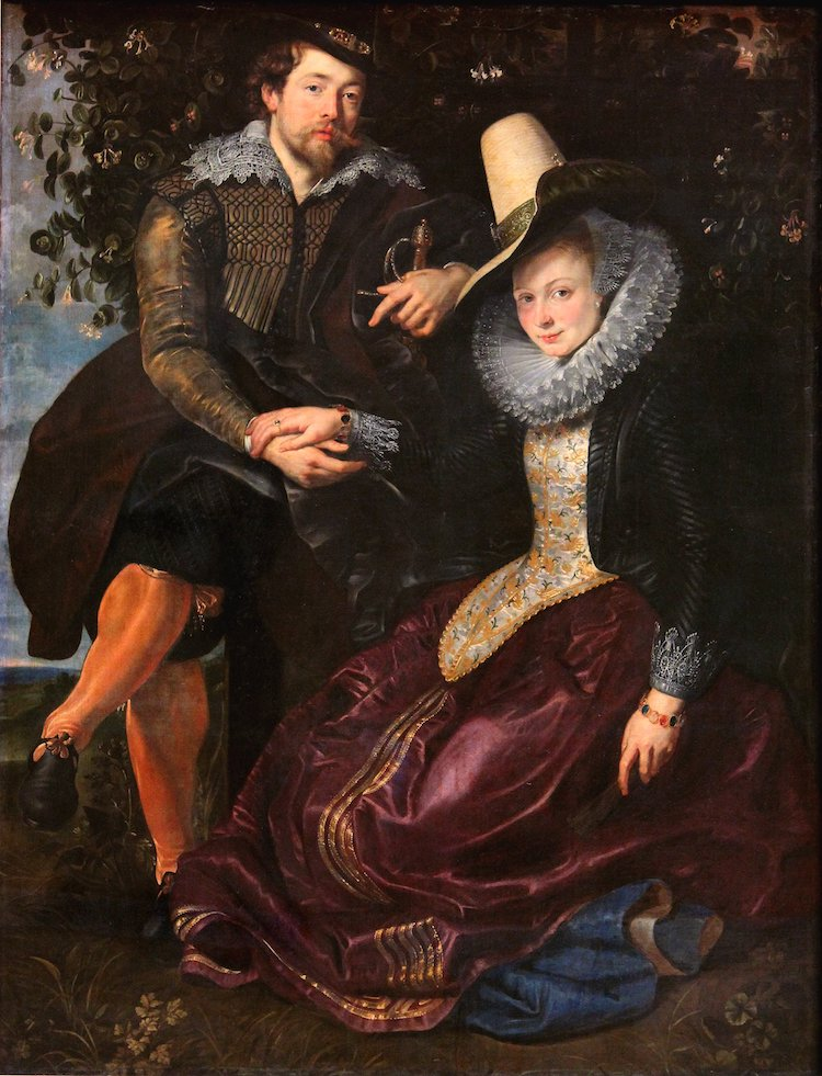 Rubens and Isabelle Brante Painting by Peter Paul Rubens