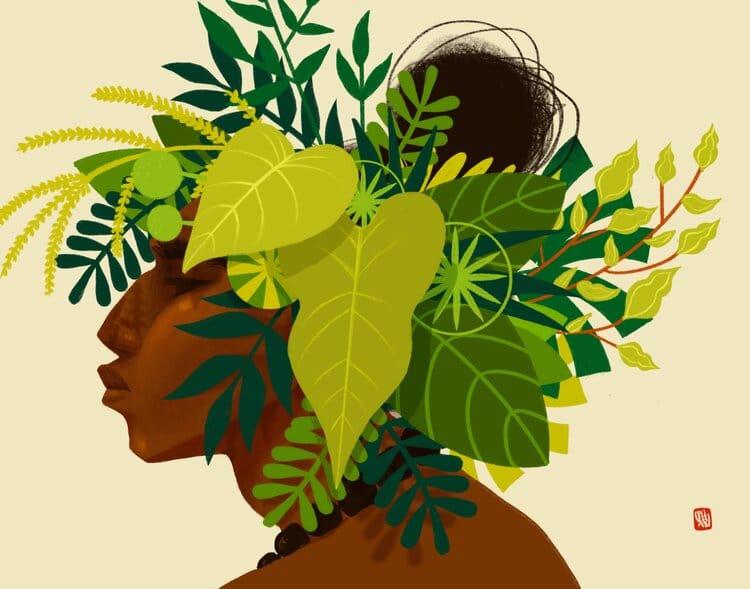 Hawaii Illustration Images by Punky Aloha