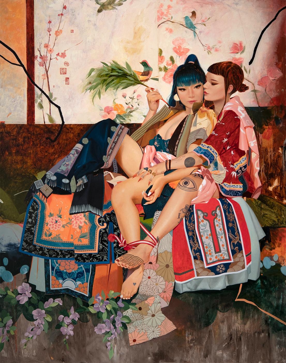 Figurative Paintings by Soey Milk