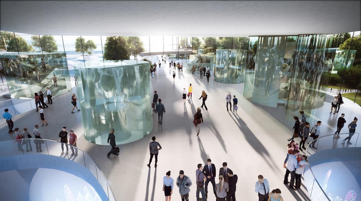 Interior View of Sou Fujimoto's Proposal for Qianhai's New City Center Landmark