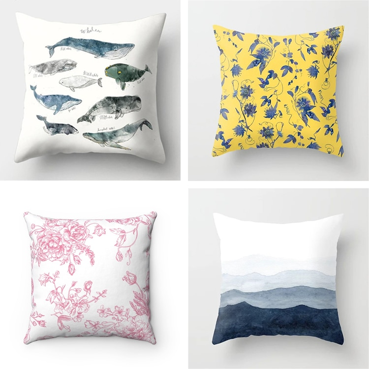 Spring Throw Pillow Covers