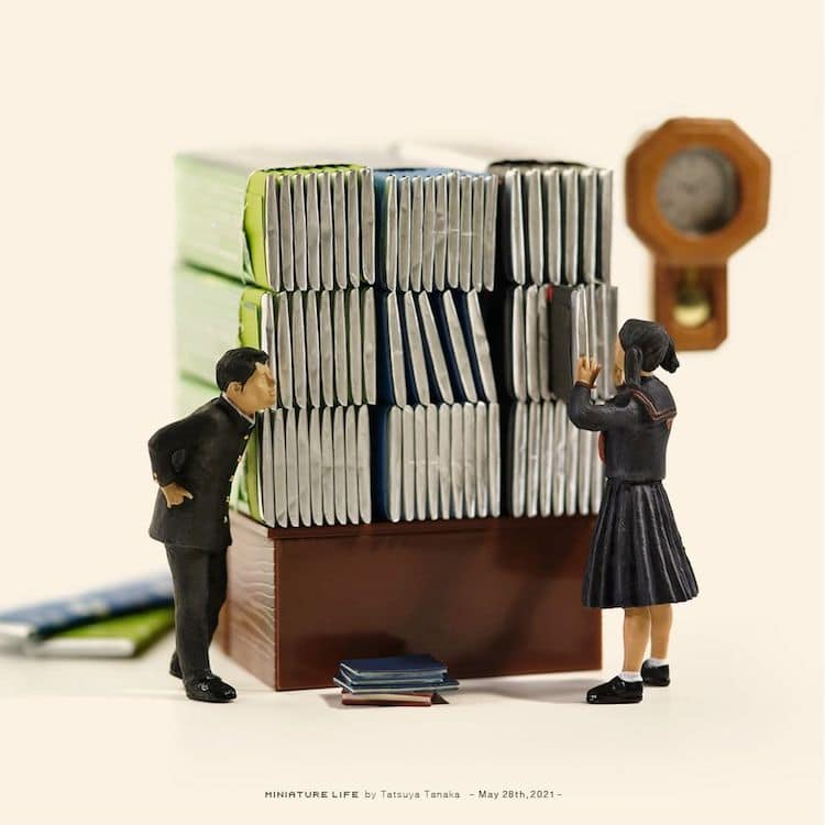 Miniature Art by Tatsuya Tanaka